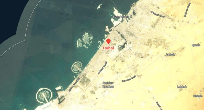 Dubai Google Earth