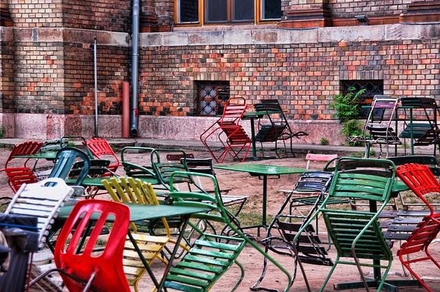 Bar no distrito judeu budapeste