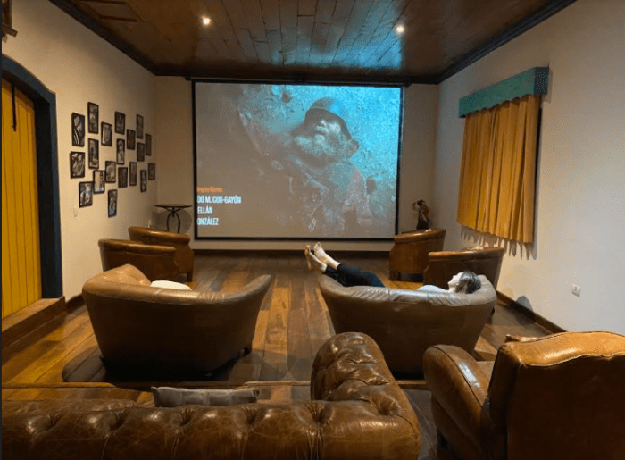 hotel com cinema em são paulo